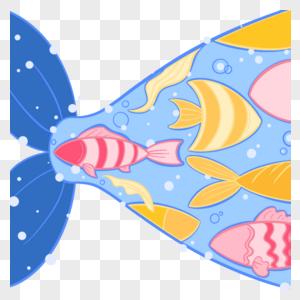 腹中鱼群图片