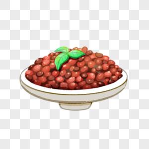 美食配料甜红豆图片