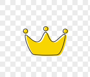 卡通皇冠图片