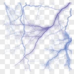 闪电png免抠元素自然界底纹背景图片
