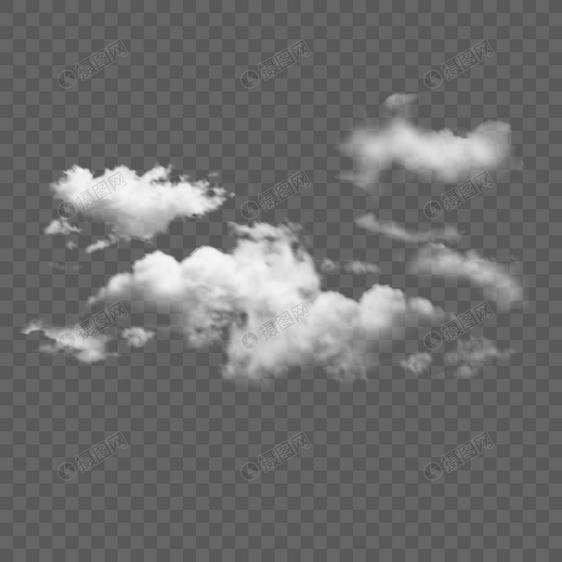 漂浮白云云朵天气云图片