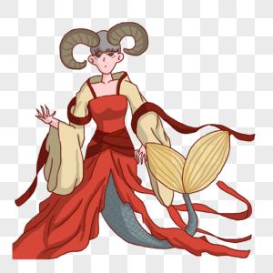 摩羯座女神图片