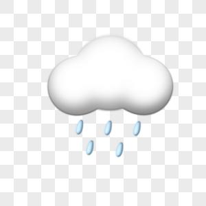 天气雨云天气预报图片
