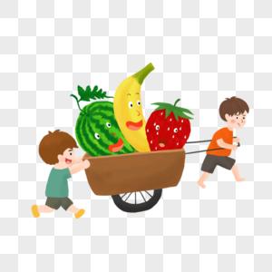水果推车图片