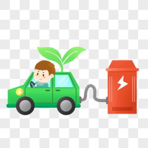 环保充电电力小汽车图片