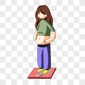 体重超标图片