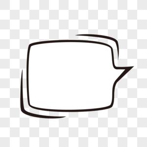 白色对话框图片