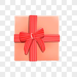 浪漫蝴蝶结礼盒图片
