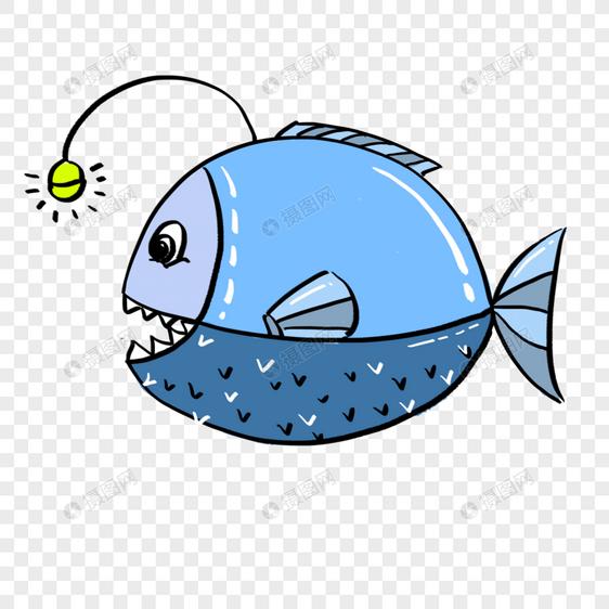 卡通海洋生物鱼免抠素材图片