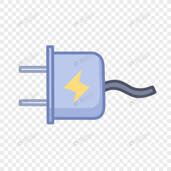 通用符号充电标志图片