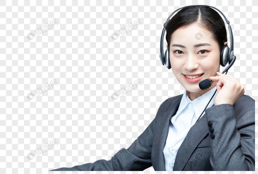 话务员客服代表图片