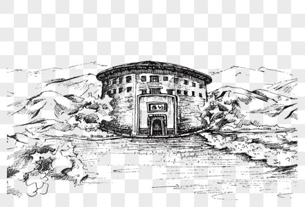 福建土楼图片