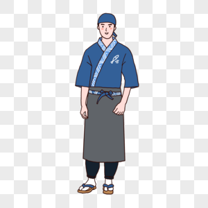 寿司店厨师图片
