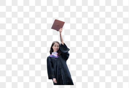 大学生毕业美女图片