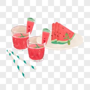 夏日西瓜图片