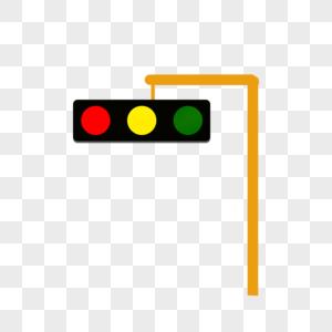 驾考汽车图标_马路红绿灯背景元素素材下载-正版素材400228277-摄图网