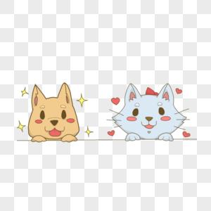 猫咪和狗狗图片