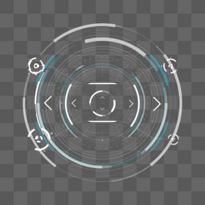 科技感圆形效果图片