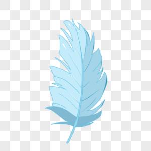 一片羽毛图片