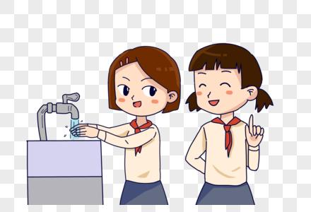 节约用水关好水龙头图片