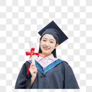 女大学生毕业照图片