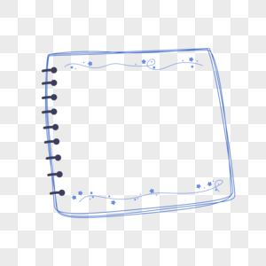 线圈本边框图片