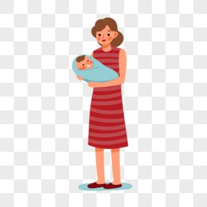 手绘母婴图片