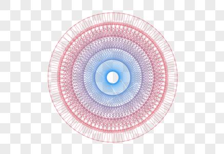 创意圆形科技线条背景元素设计图片