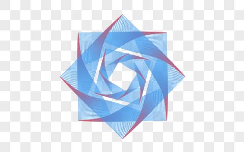 创意科技线条花纹元素设计图片