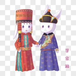 蒙古族兔子图片