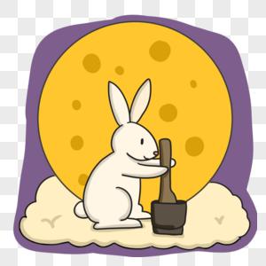可爱的玉兔图片