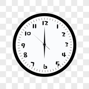 简约时钟图片