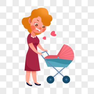 母婴人物图片