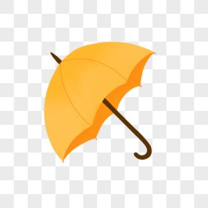 黄色太阳伞图片