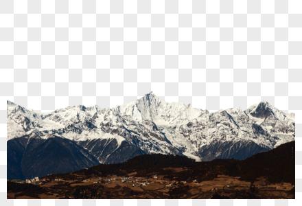 云南梅里雪山雨崩村徒步图片