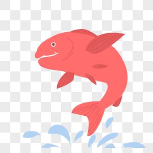 跳跃的鱼图片