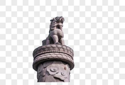华表狮子图片