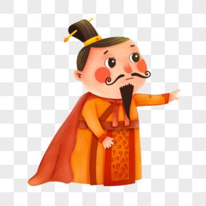 卡通可爱皇帝图片