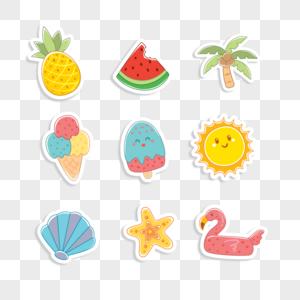夏季元素图片