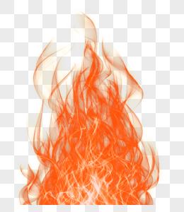 红色艺术火焰光效图片