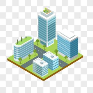 立体建筑元素图片