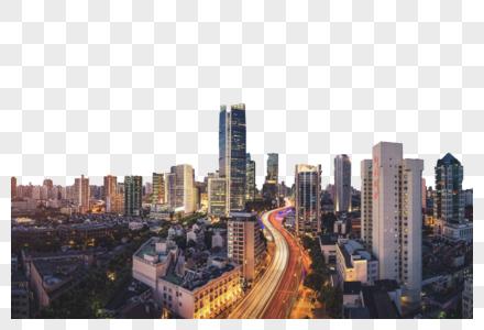 风光建筑夜景图片