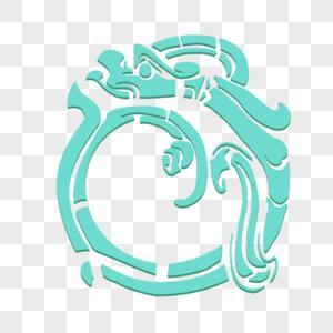 古代龙纹图片