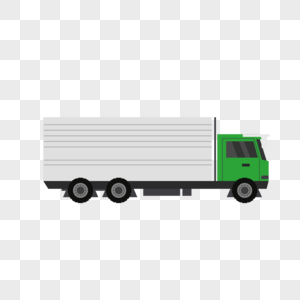 集装箱货车图片
