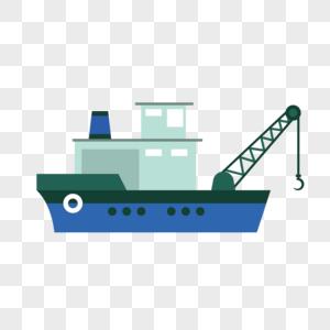 码头轮船图片