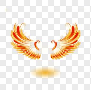 金色翅膀光效效果图片