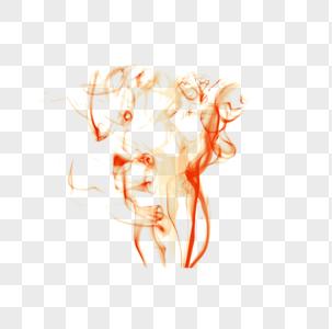 红色烟雾光效效果图片
