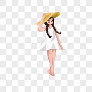 短裙美少女图片
