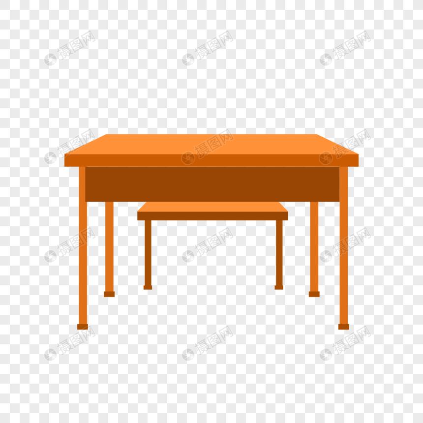 手绘课桌图片
