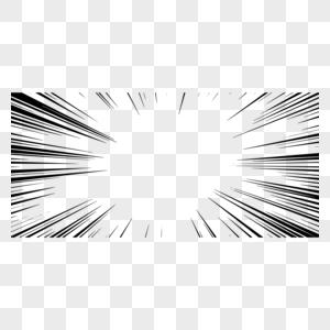黑色放射速度线图片